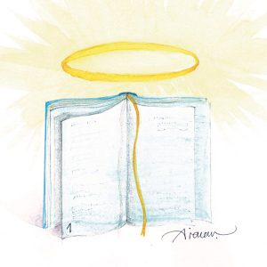 Book with a halo